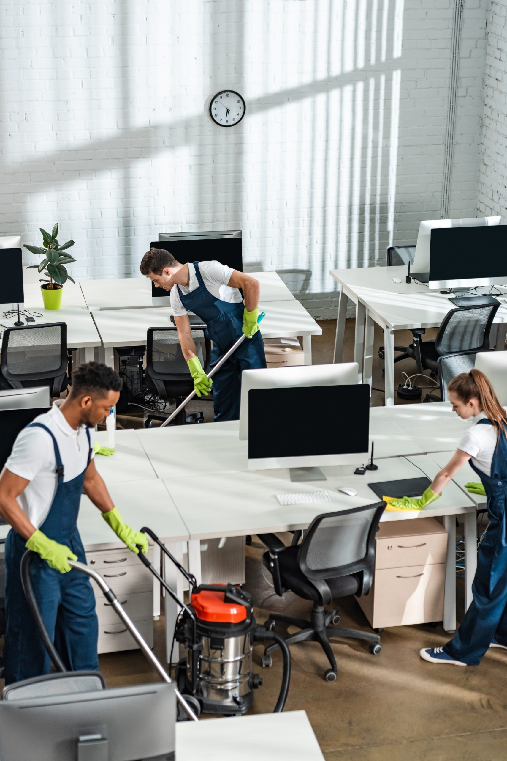 Corporate Building Janitorial Services MD