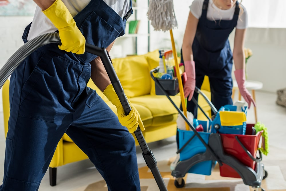 office building cleaning in Owings Mills Md